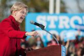 Elizabeth Warren speaking justice system racist front back problems real