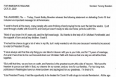 FSU Head Coach Bobby Bowden Releases Statement on Beating COVID-19